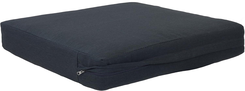 Gartenmöbel Rattan Premium Sitzkissen mit Reißverschluss 50 x 50 cm in der Farbe sand Loungekissen günstig