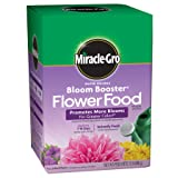 Miracle-Gro Water Soluble Bloom Booster Flower Food (Tamaño: 1.5 LB)