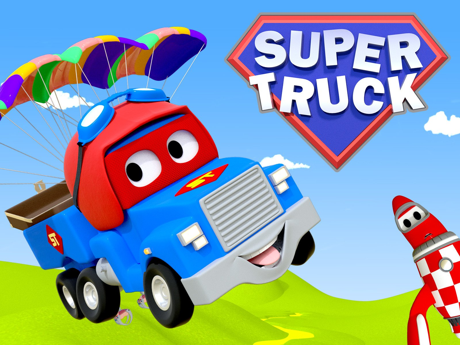 Watch Super Truck Of Car City On Amazon Prime Video Uk