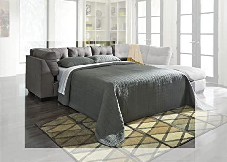 Maier Charcoal LAF Full Sofa Sleeper