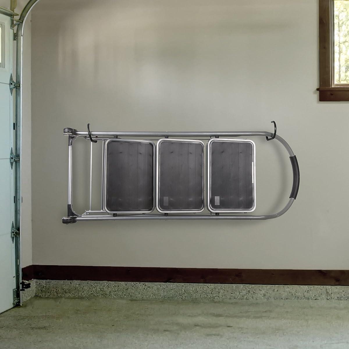 Stalwart Large Ceiling & Wall Bike Hooks