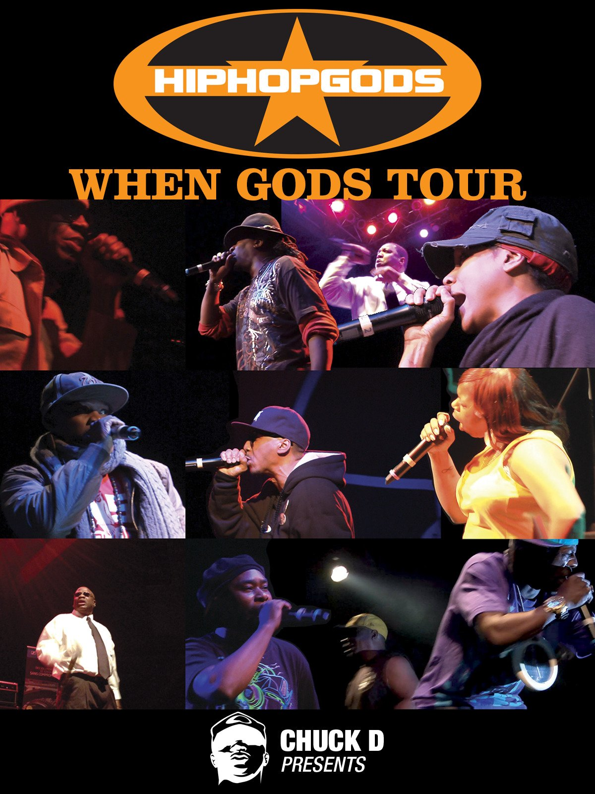 Chuck D Presents: Hiphop Gods- When Gods Tour on Amazon Prime Video UK
