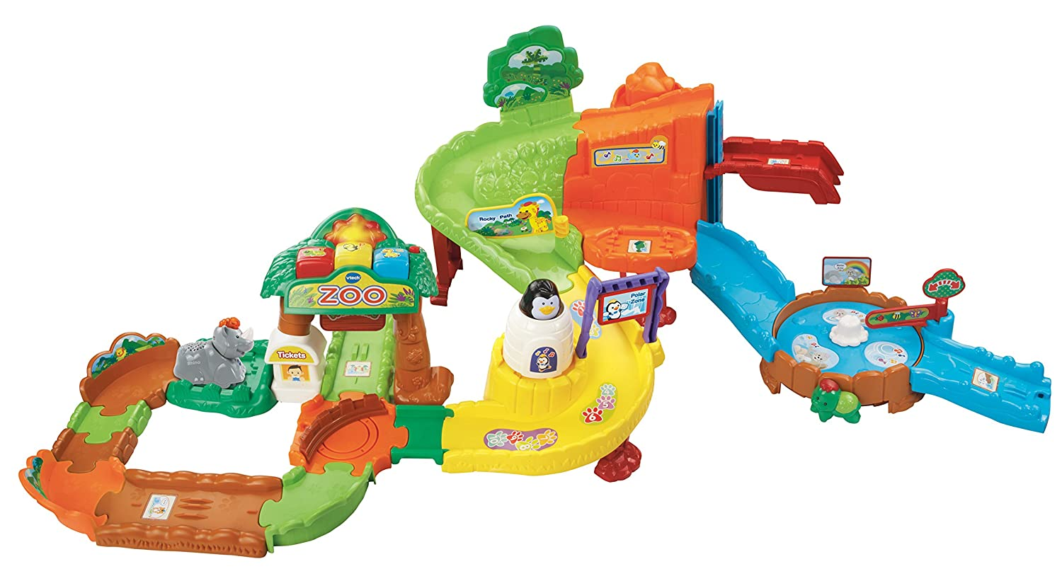 Vtech Go Go Smart Animals Zoo Explorers Playset