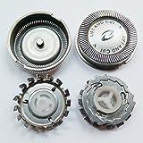 Lot of 3pcs Shaver Head Replacement for HQ56 HQ55 HQ4+ HQ3 HQ802+ HQ912+ PQ202 HP1318 HP1319