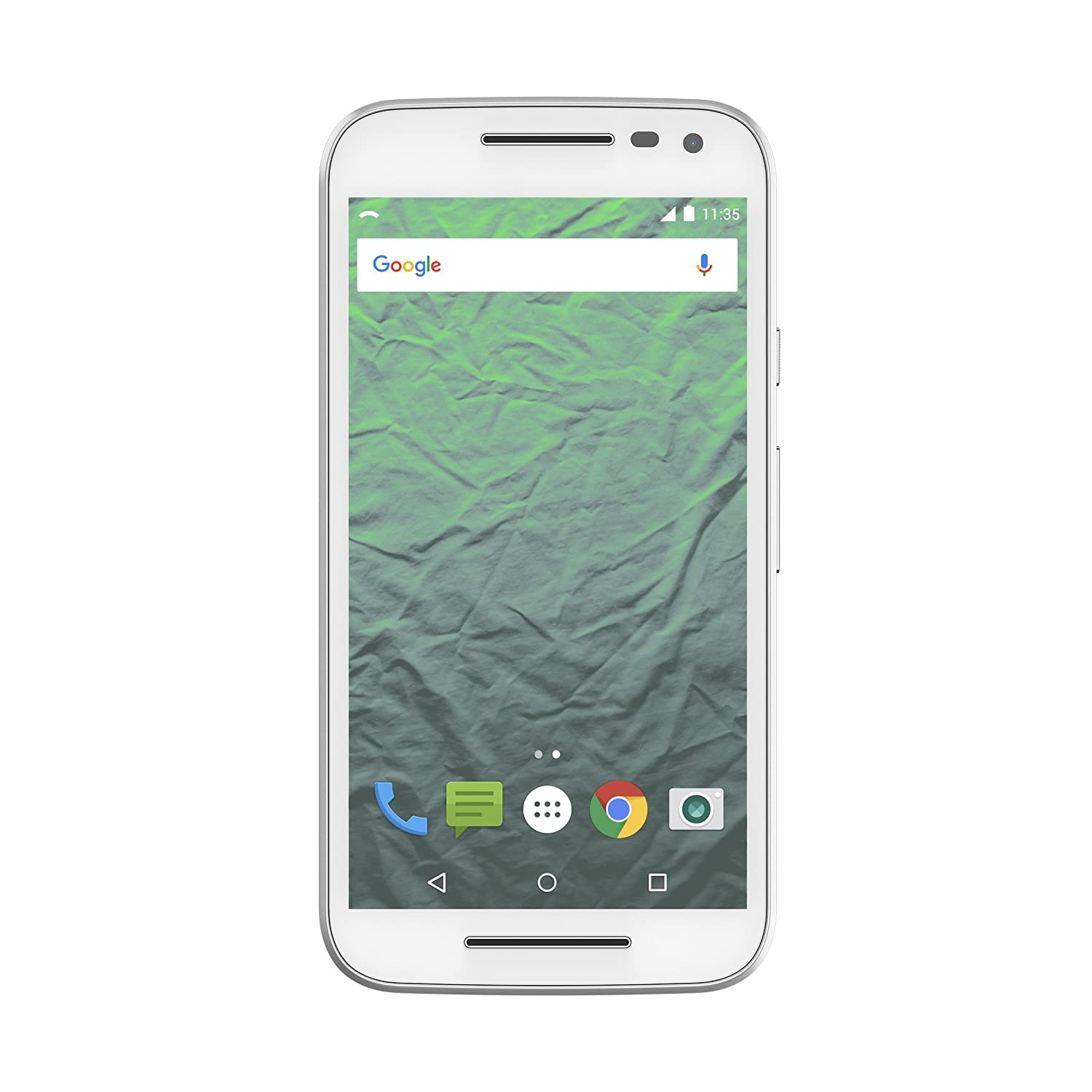 Republic Wireless Moto G 3rd Gen, White/16GB No Contract Phone - Carrier Packaging (Republic Wireless)