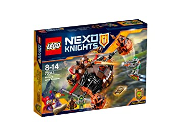 LEGO - 70313 - Nexo knights - Jeu de Construction - L'Ecrase-lave de Moltor