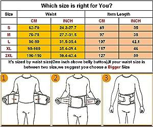 41eea177ce2 ... VENUZOR Waist Trainer Belt for Women - Waist Cincher Trimmer - Slimming  Body Shaper Belt ...