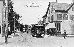 South Portland, Maine vintage postcard