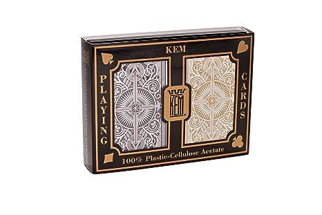 Kem - 1017402 - Jeu de Société - Arrow Black and Gold Narrow - Jumbo Index