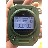 SPECIAL PIE Shot Timer - 2019 Newest 3 in 1 Shooting Timer for Firearms Airsoft Stop Watch Perfect for Pistols Rifle Dry Fire Shot in USPSA, IPSC, APSC, IDPA, 3 GUN, Steel Challenge Competition Timer (Color: Green)