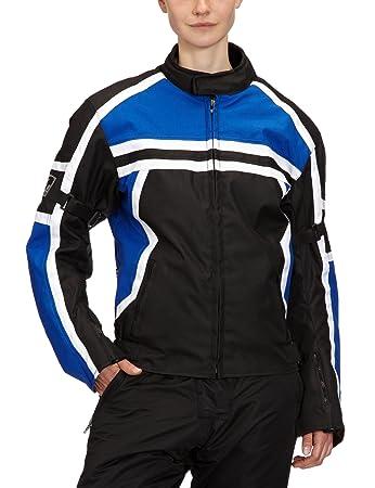 Römer 5822 Blouson Moto Washington, Noir/Bleu/Blanc, S