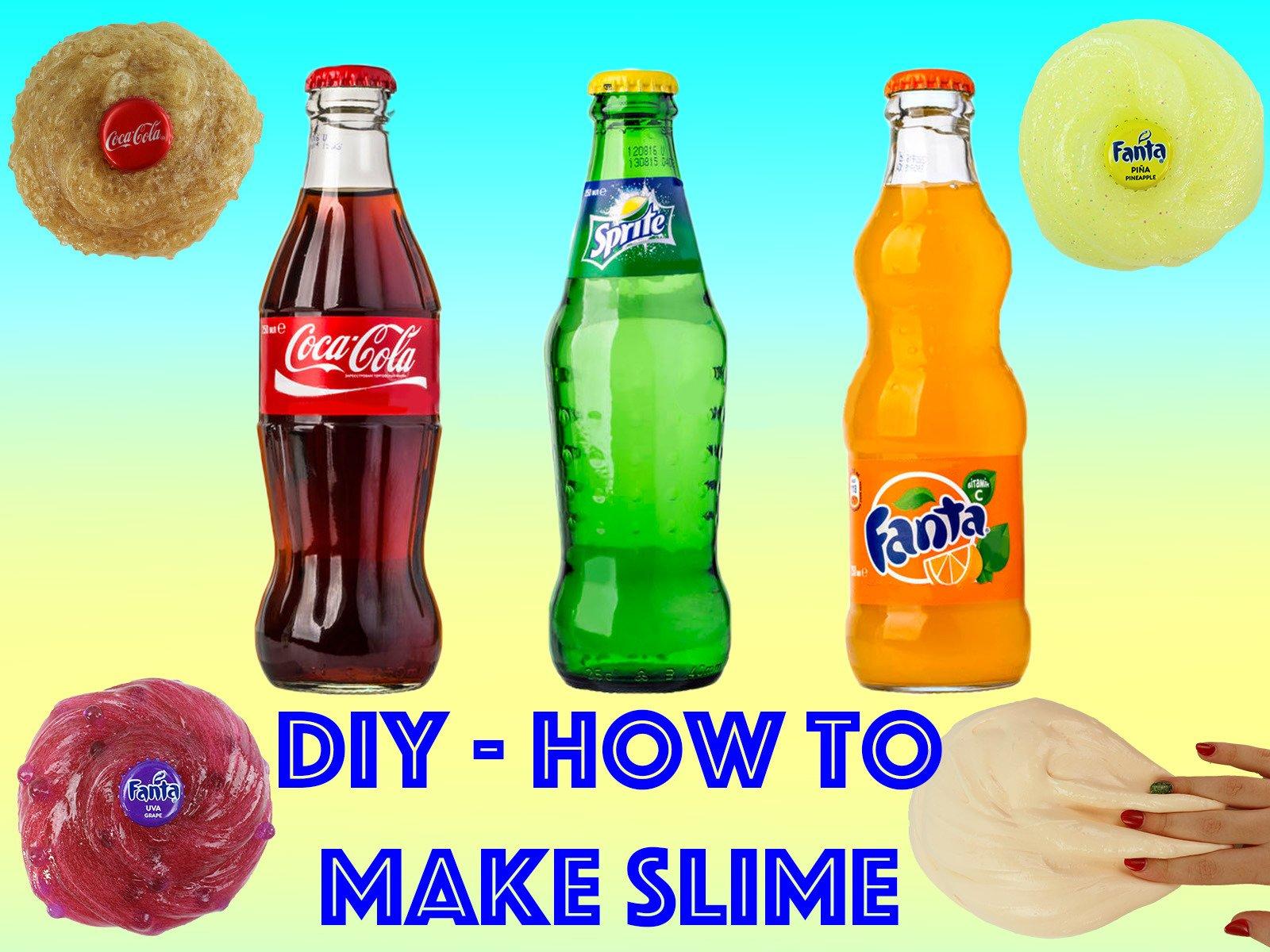 Diy How To Make Slime