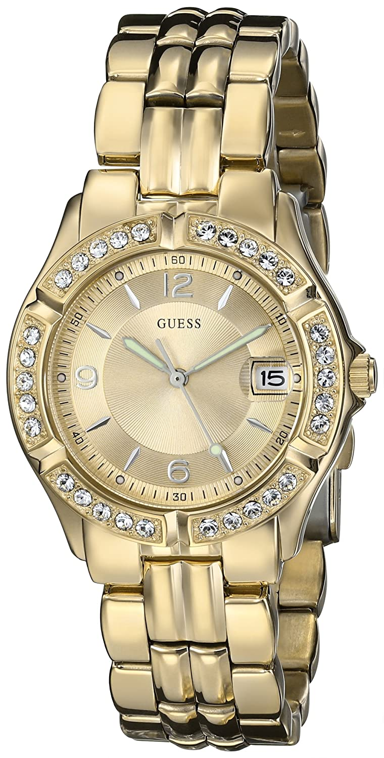 Guess Gold Tone Watch on Heavenkart