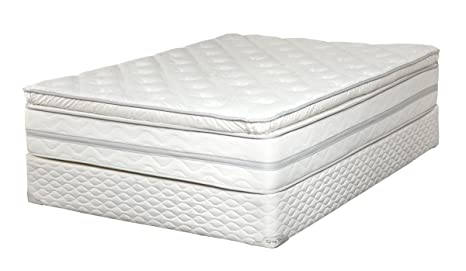 "Luxury Plush Firm Quilted top 12"" Foam Encased Innerspring Mattress - Full"