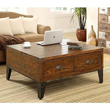 Wooden wellington lift top coffee table instructions pdf plans for Coffee table instructions