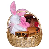 Some Bunny Loves You Godiva Chocolates Easter Gift Basket
