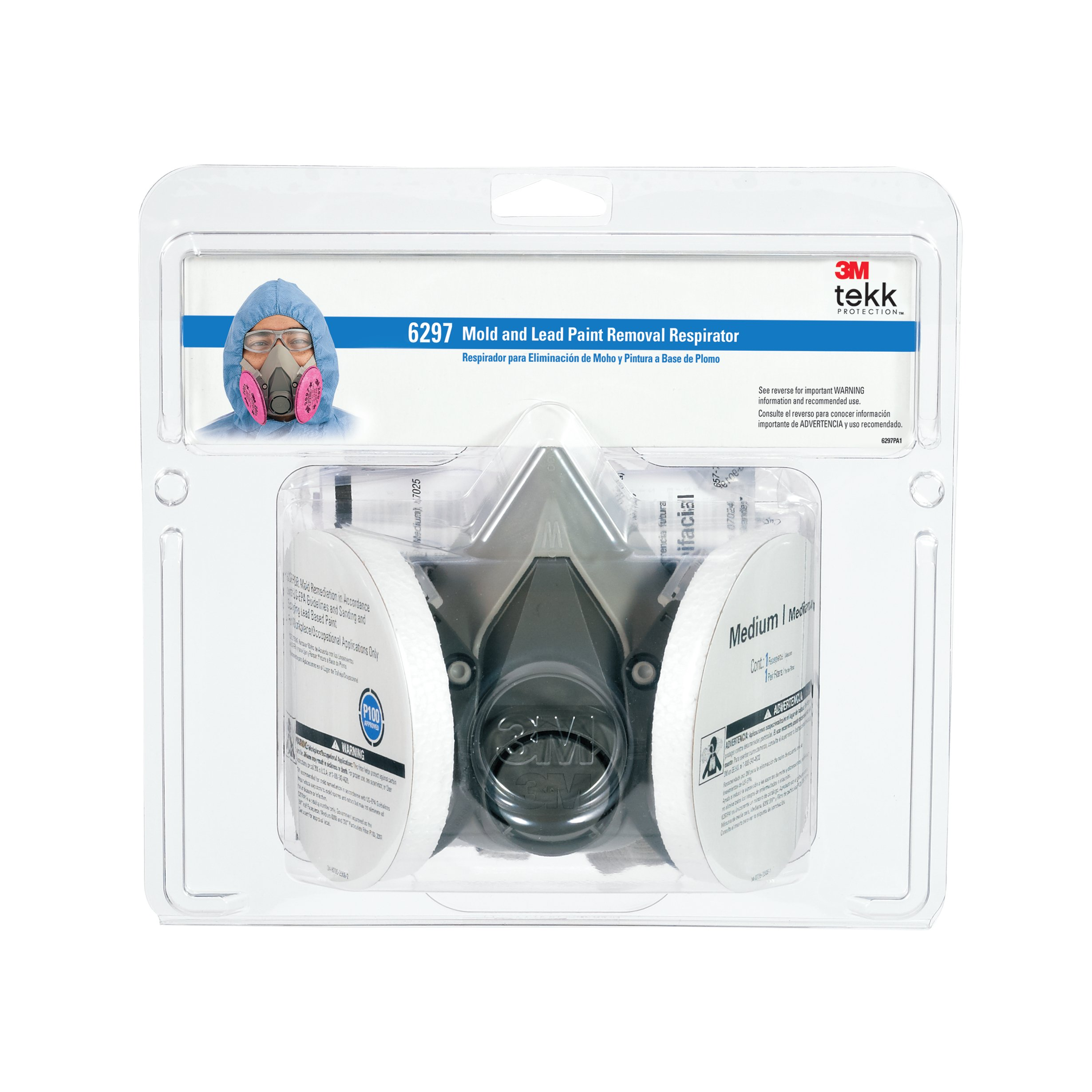 3m Mold And Lead Paint Removal Respirator Medium Ebay