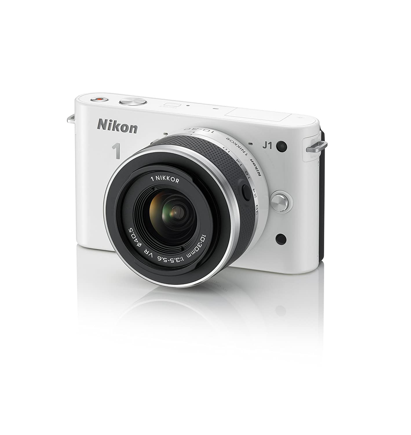 "Reviews: Nikon 1 J1 10.1 MP HD Digital Camera System with 10-30mm VR 1 NIKKOR Lens (White) mirrorless camera is focused on the simple ""life"" photo shoot"