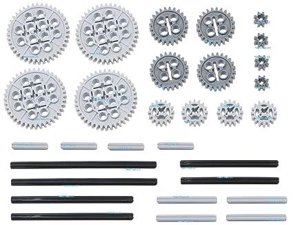 Lego Technic Gears Assortment Pack Lego 30pc Technic Gear Axle