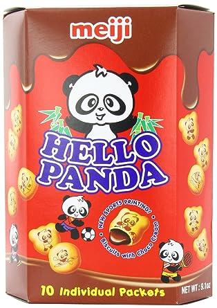 Meiji Hello Panda Chocolate Biscuit, 9.01 Ounce