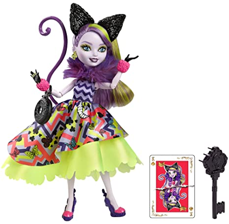 Ever After High - Cjf41 - Poupée Mannequin - Kitty Cheshire - Wonderland