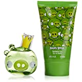 Air-Val International Angry Birds King Pig Eau de Toilette Spray Gift Set for Women, 2 Count