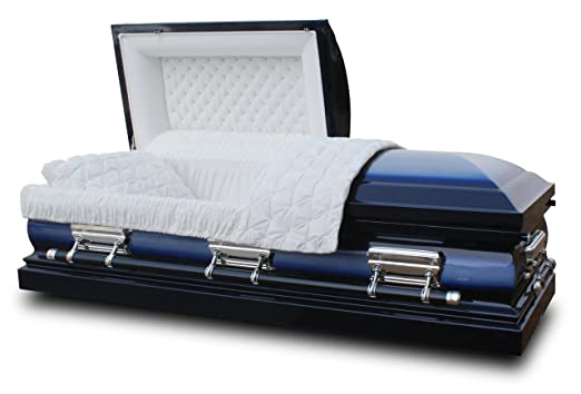 Star Legacy Deluxe Casket, Midnight Blue
