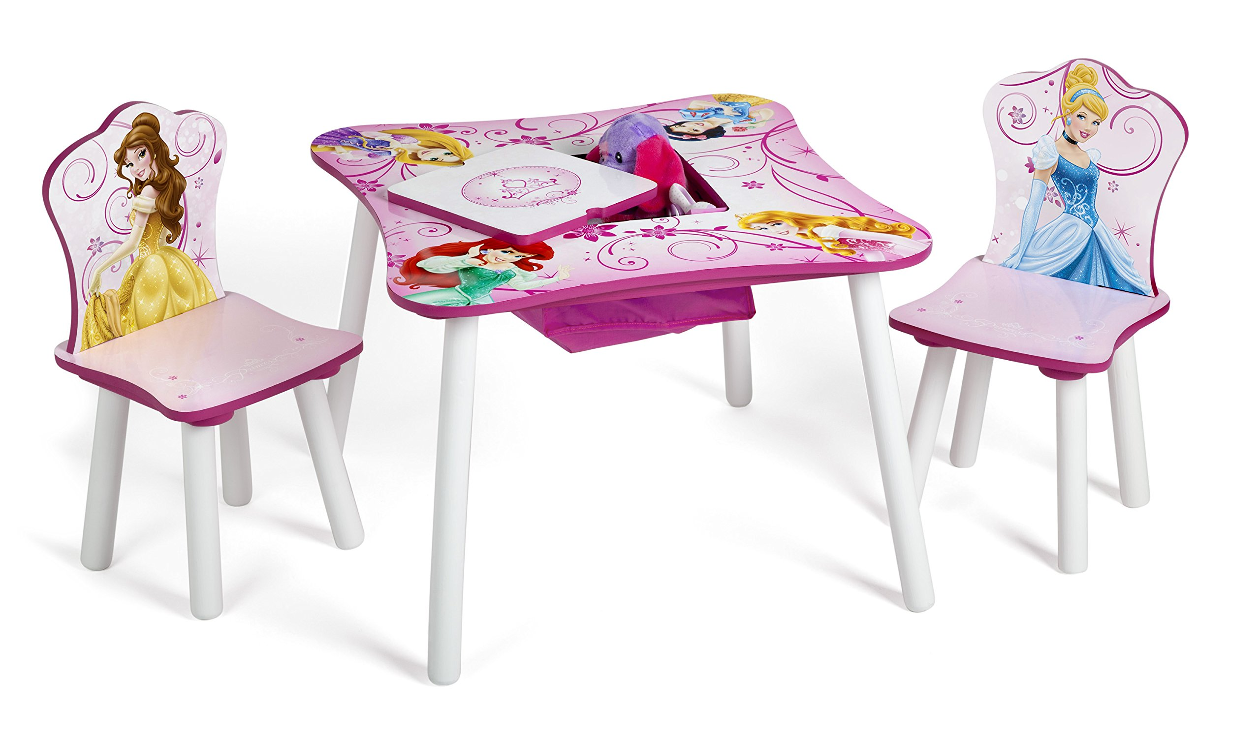 Delta Children Table And Chair Set With Storage Disney