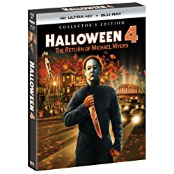 Halloween 4: The Return of Michael Myers - Collector's Edition [4K Ultra HD + Blu-ray]