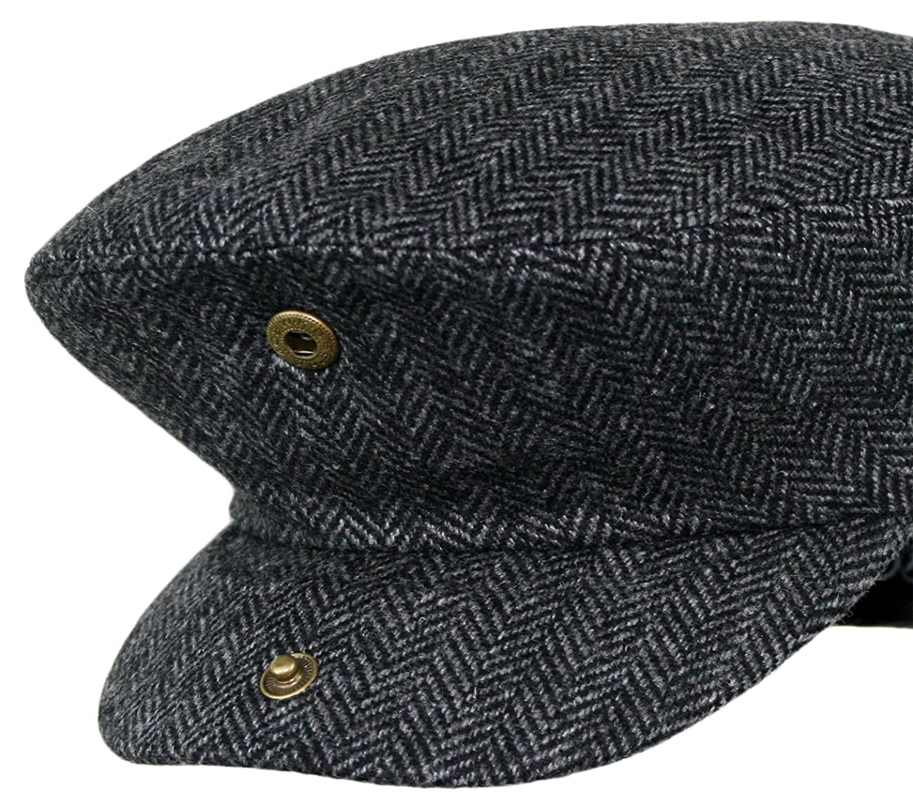 Men's Premium Wool Blend Classic Flat Ivy Newsboy Collection Hat 5