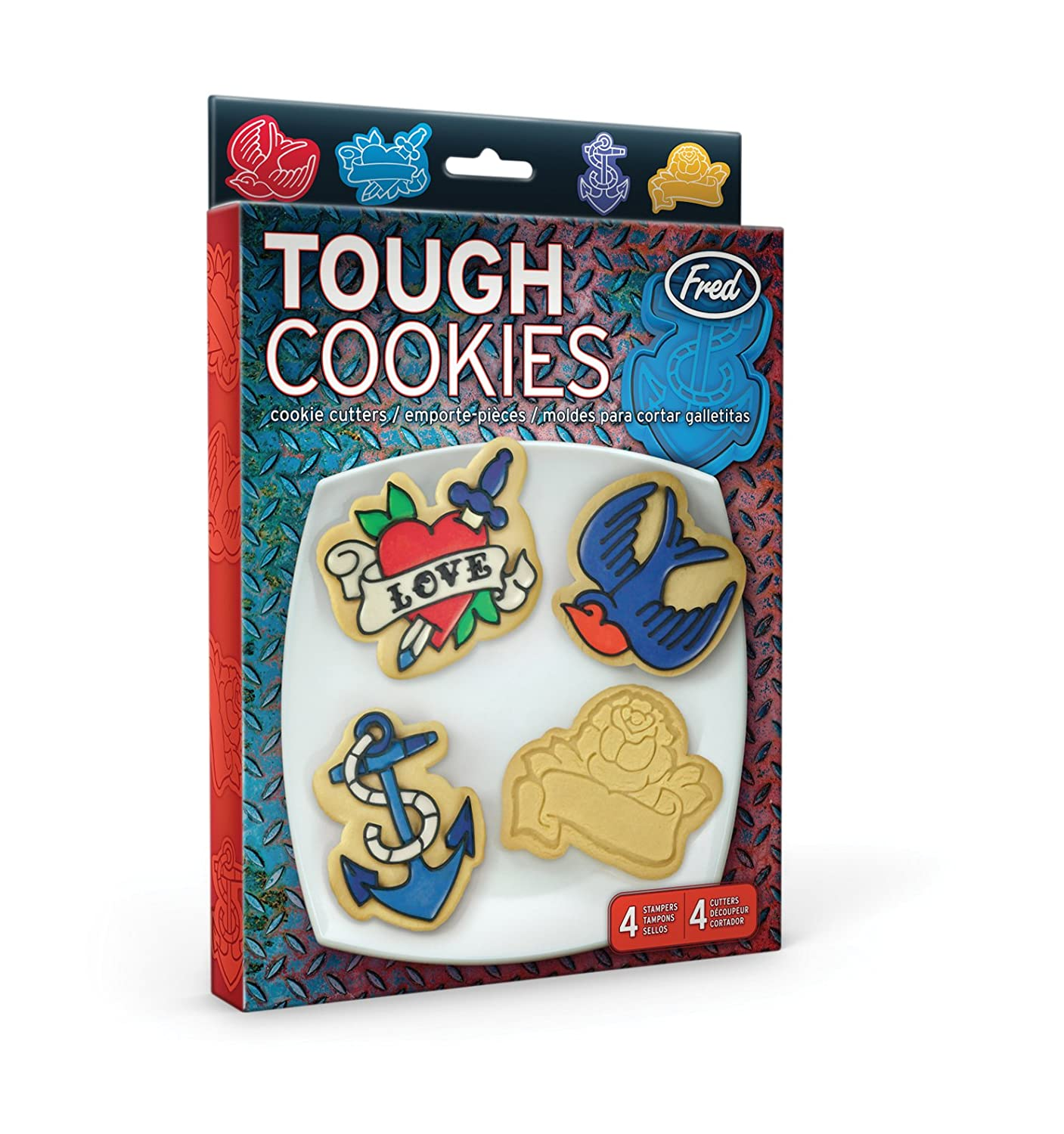 fred tough tattoo biscuit cutters