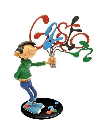 Plastoy - 313 - Figurine Bande Dessinée - Gaston Et Ses Tubes De Peinture - Collectoys