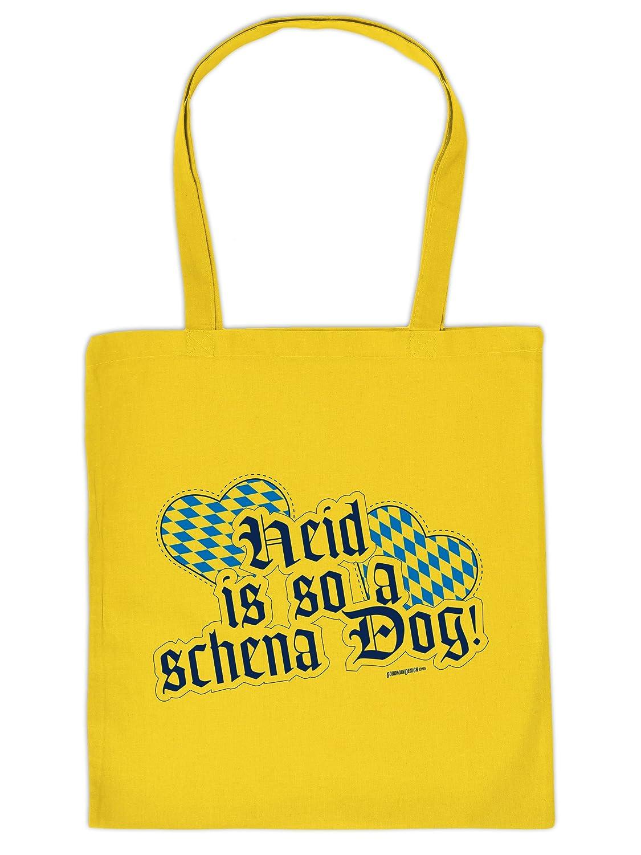 Mega Coole Bayerische Tragetasche – Boarische Redensarten – Heid is so a schena Dog! /Goodman Design günstig bestellen