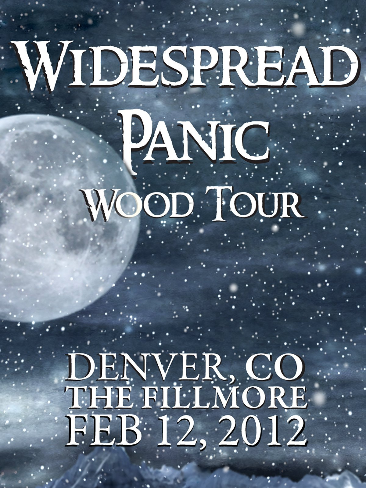 Widespread Panic: Wood Tour - Denver, CO The Fillmore February 12, 2012 on Amazon Prime Instant Video UK