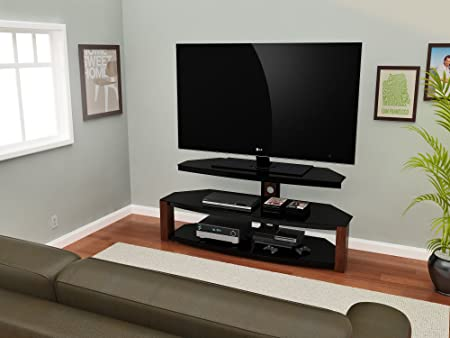 Z-Line Designs Rhine TV Stand, 55-Inch, Brown