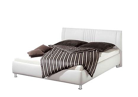 Maintal Betten 232543-4691 Polsterbett Ilea 100 x 200 cm, weiß
