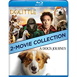 Dolittle / A Dog's Journey Double Feature [Blu-ray]