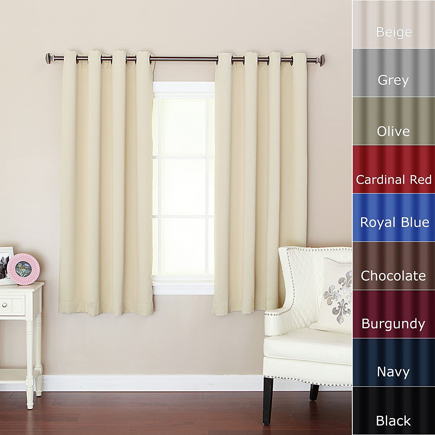 Curtains for short window home design online Curtain ideas for short windows