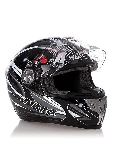 Nitro Ballistic Casque de moto