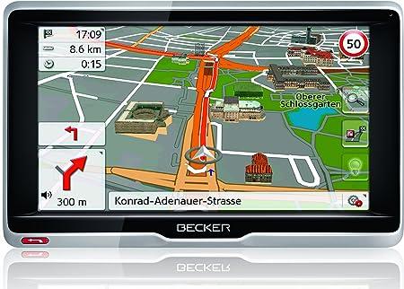 Becker 1501860000 GPS Noir, Argent