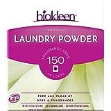 Biokleen Laundry Powder, Free & Clear, 10 lbs - 150 HE Loads/100 Standard Loads