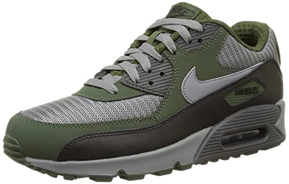 ... Nike Air Max 90 Mens Running Shoe Fashion Gray Blue Silver ...