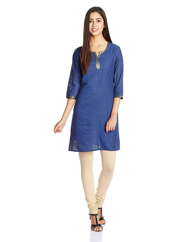 Buy Ethnicity Women's Cotton Straight Kurta At Rs 450 - Amazon