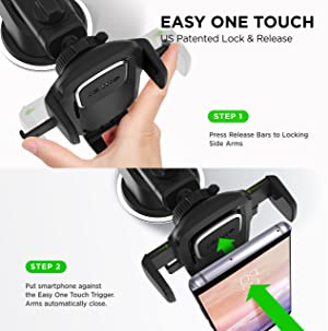 Laptop & Desktop Accessories Stands, Holders & Car Mounts Iottie Easy One Touch 4 Dashboard & Windshield Car Phone Mount Holder For Iphone