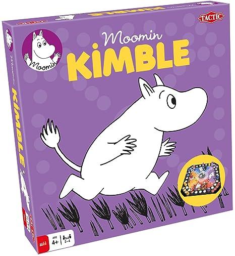 Tactic - 53106 - Jeu De Société - Moomin Kimble - Le Jeu Des Petits Chevaux