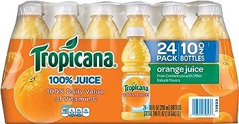 24 Pack Tropicana Orange Juice 10 Ounce