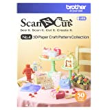 Brother Sewing CAUSB4 ScanNcut 3D Paper Craft USB, Multicolor (Color: Multicolor)