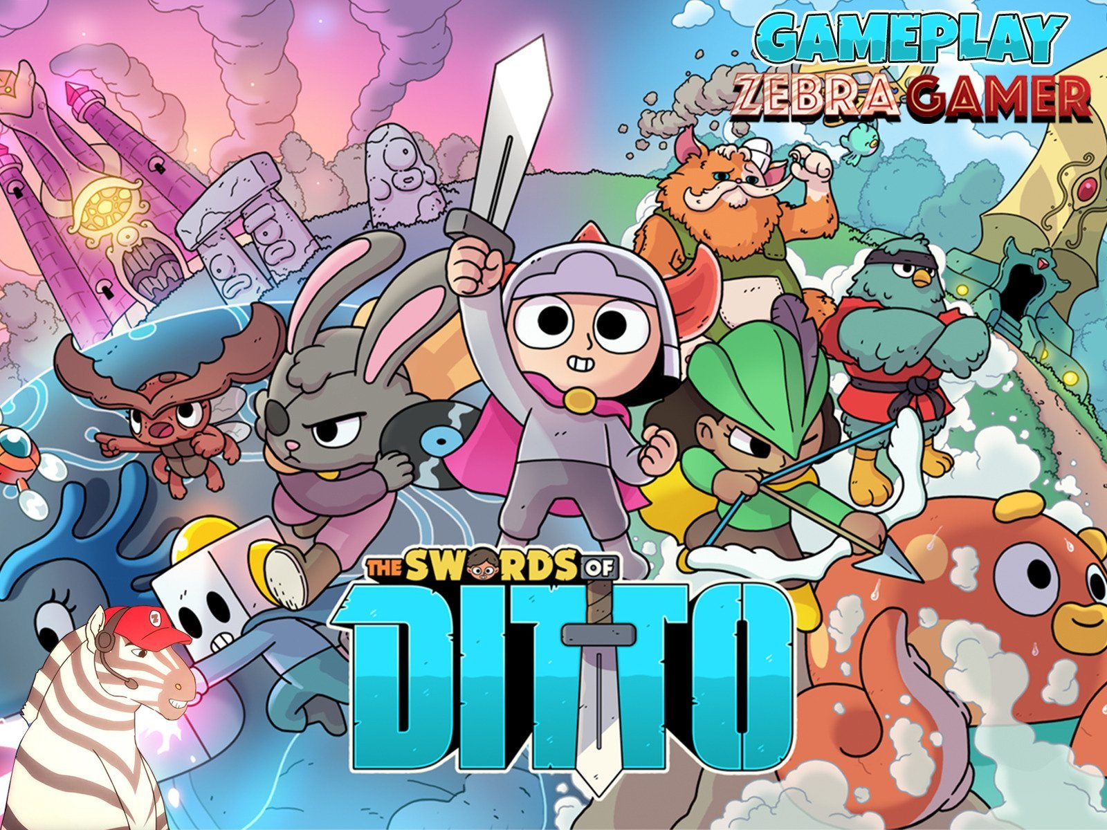 Clip: The Swords of Ditto Gameplay - Zebra Gamer on Amazon Prime Video UK