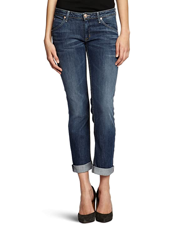 Hudson Jeans Women's Bacara Cuffed Crop Jean in Hackney