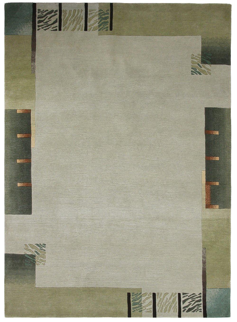 """TEPPICHWELT SONA-LUX Nepal Teppich handgeknüpft lind """"Größe auswählen"""" 200 x 300 cm"""